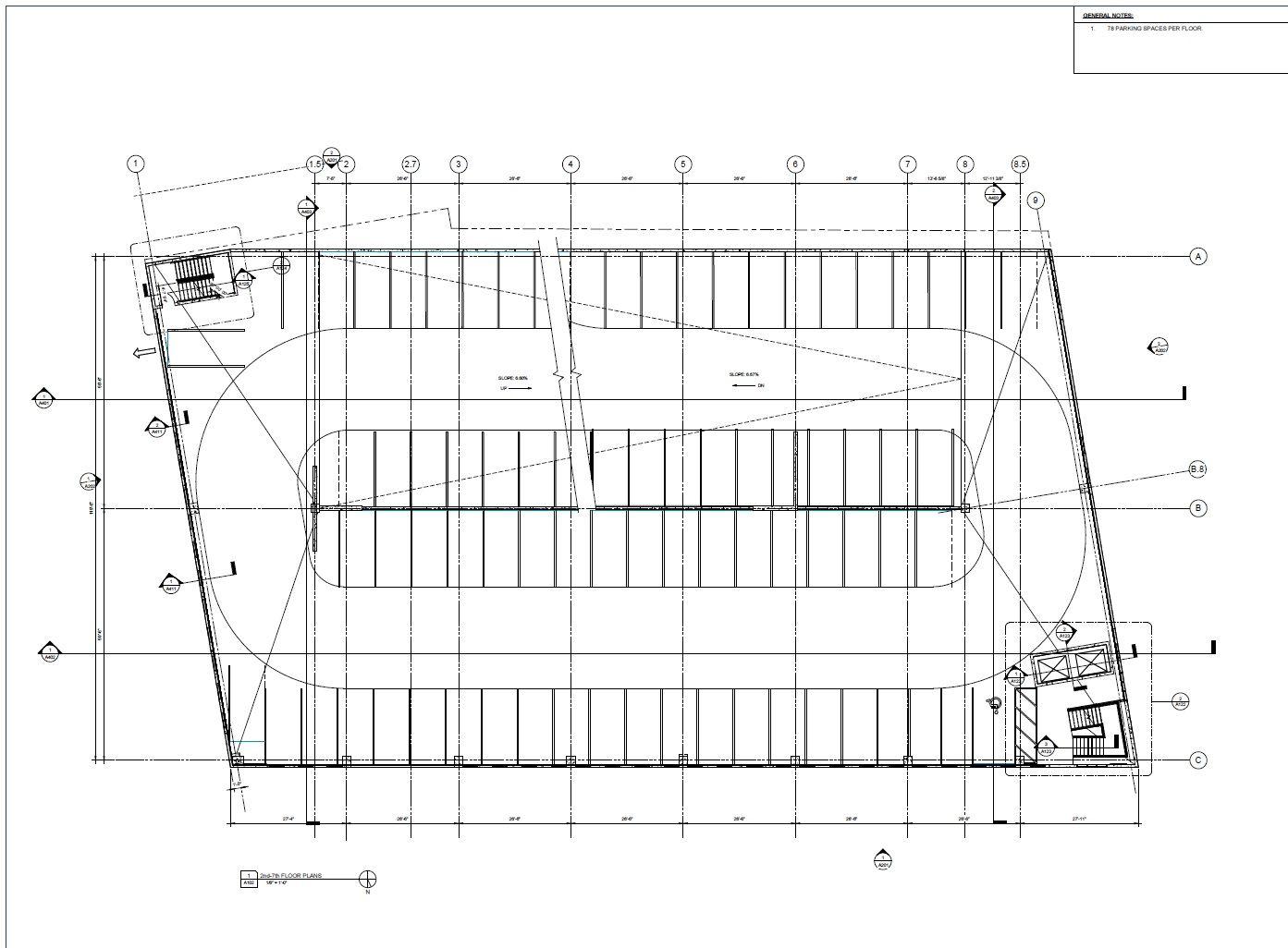 Top Floor Parking Garage Parking Garage Garage Plans Garage Plan