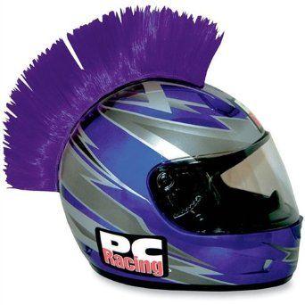 Amazon.com: PC Racing Helmet Mohawks - Purple: Automotive