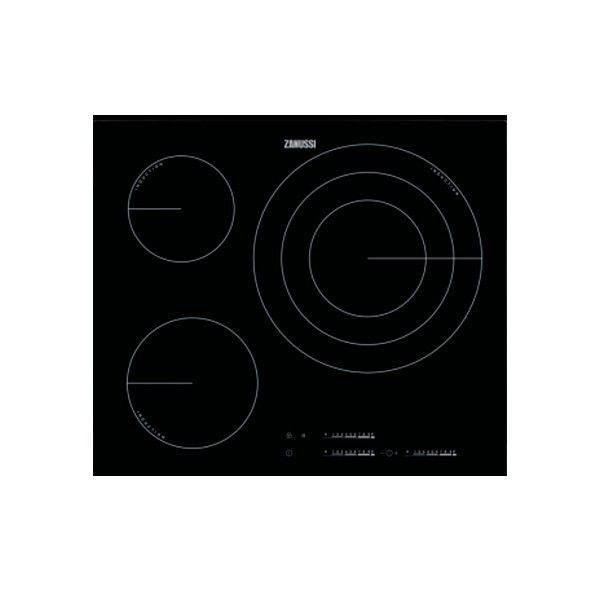 Piano Cottura ad Induzione Zanussi ZIT6375CB 60 cm Nero (3 ...