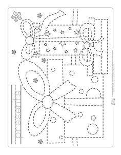 christmas tracing worksheets chalking christmas worksheets preschool christmas christmas. Black Bedroom Furniture Sets. Home Design Ideas