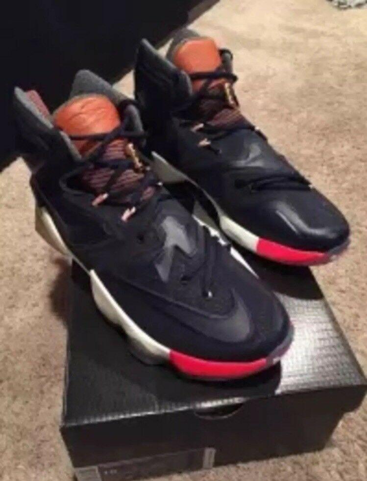 315bc2a947 eBay Sponsored) Nike Lebron 13 XIII LMTD Men's Size 10 Navy Blue ...