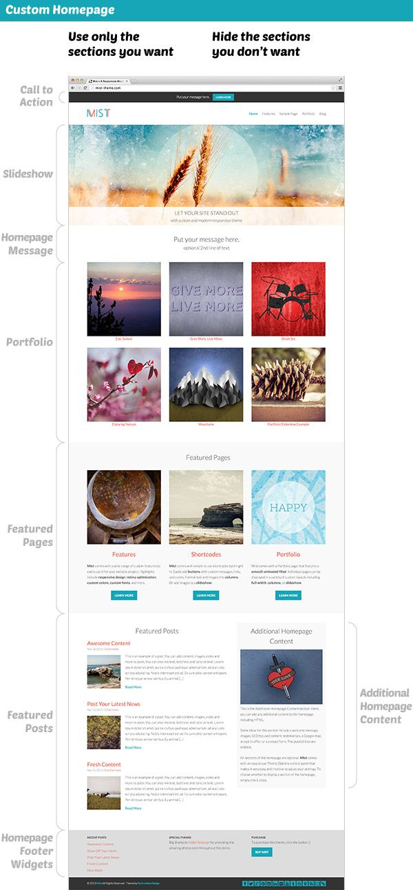Mist | Themes themes, Wordpress and Website themes
