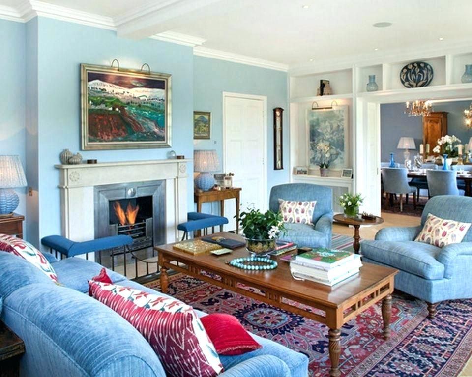 Red And Blue Bedroom Ideas Red And Blue Room Light Blue Living Room With Red Accents Red And Blu Blue Walls Living Room Blue Living Room Light Blue Living Room