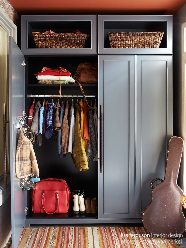 Delicieux Riverdale Entry Mudroom | Custom Armoire Closet Lisa Ferguson Interior  Design U003eu003eu003eu003e PERSONALIZED, SENTIMENTAL And THOUGHTFUL + INNOVATIVE PROBLEM  SOLVING ...