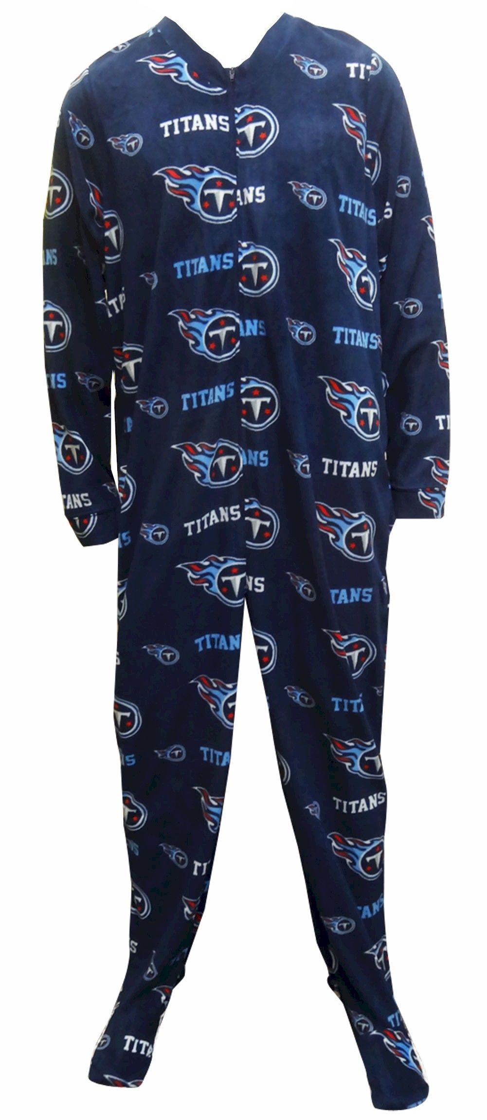 Tennessee Titans Guys Onesie Footie Pajama Show Your Team