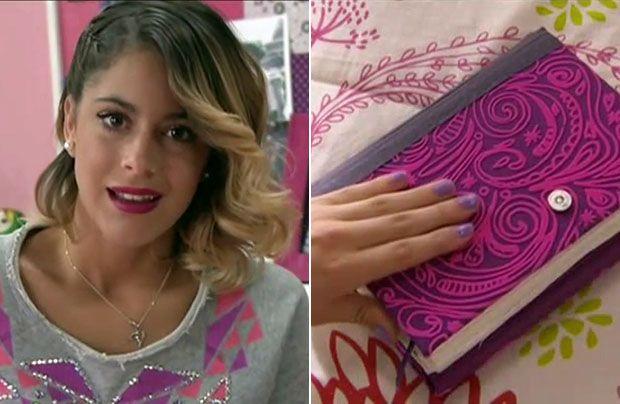 Su Cara De Tini Y Su Libro Violetta Martina Stoessel