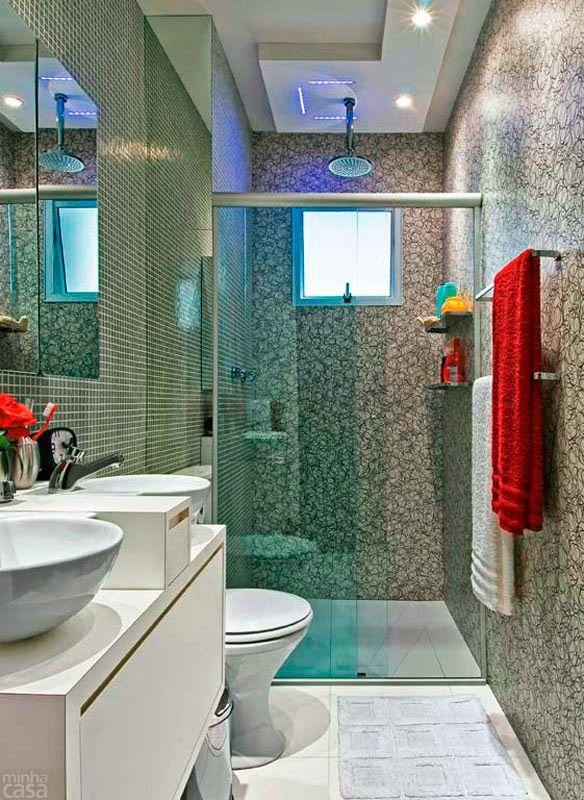 Baños pequeños con mucho estilo - Para Más Información Ingresa en