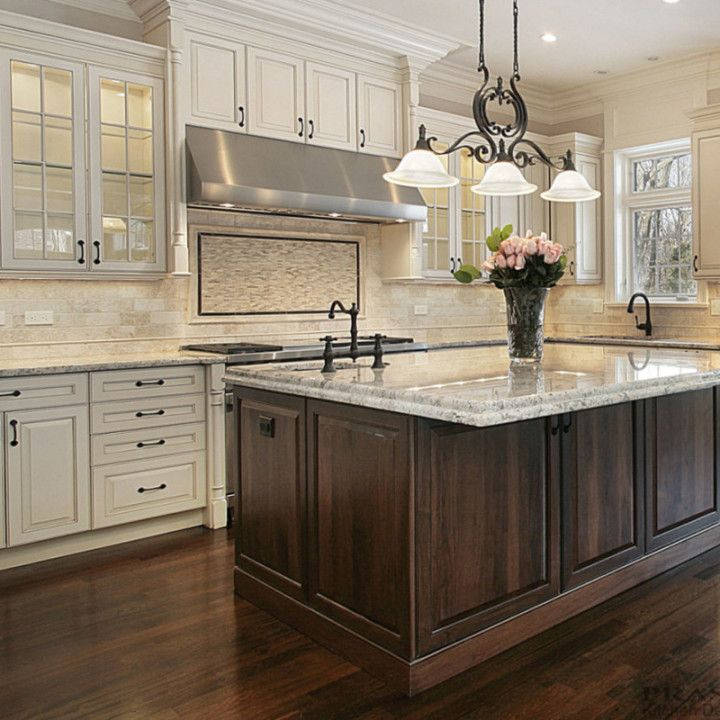 Ideas For Redoing Kitchen Cupboards: Off White Kitchen Cabinets