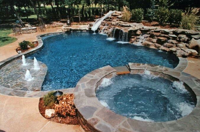 Cool pool | Dream Home | Pinterest