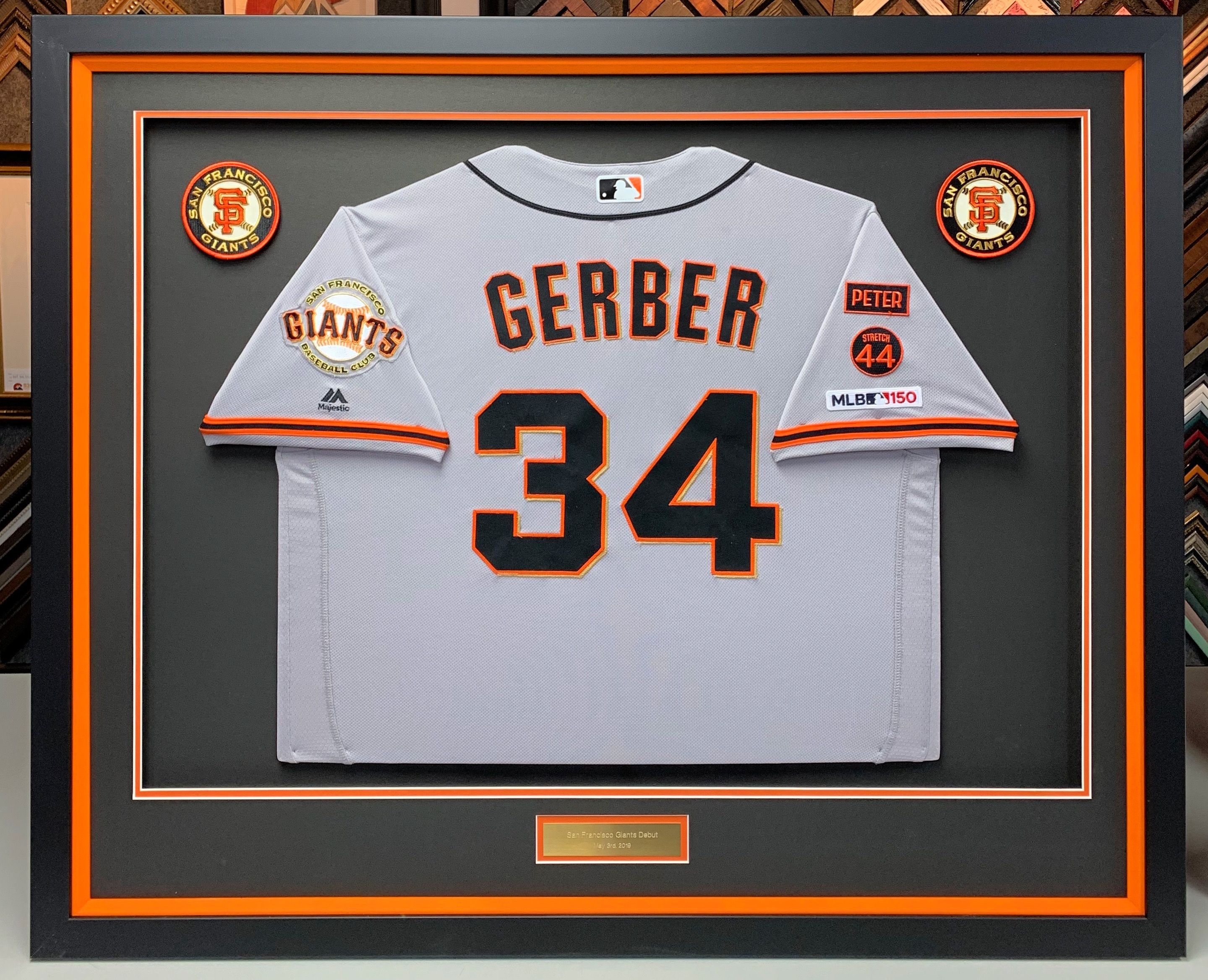 We Re So Honored That Mike Gerber Outfielder For The San