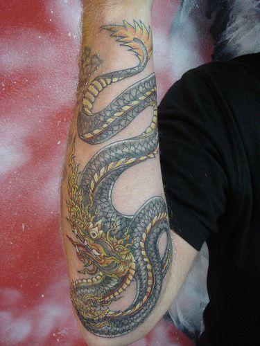 Fantastic Example Of A Naga Tattoo The Detail Is Amazing Naga