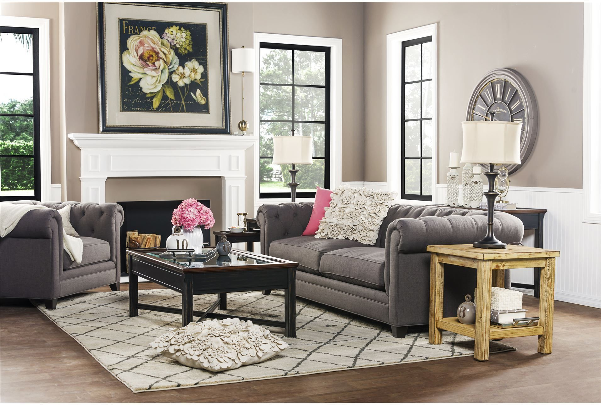 living spaces  76226  room  cheap living room sets
