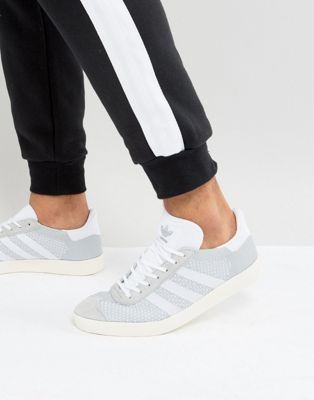 adidas Originals Gazelle Prime Knit Sneakers In Gray BB2751