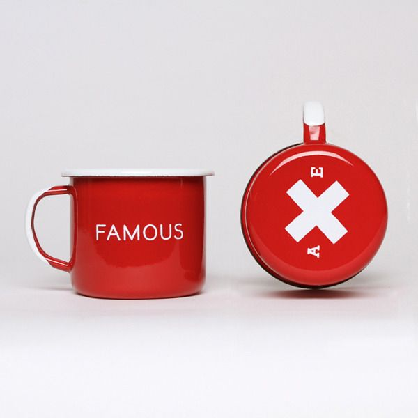 Best Made Company — Famous Red Enamel Steel Cups (Set of Two)
