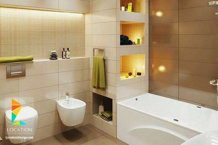 يعتبر الحمام من الاماكن المهمة نظرا لانه يحتاج الى العديد من الادوات والديكورات التي لا غني لاي حمام ع Modular Bathrooms Modern Small Bathrooms Bathroom Design