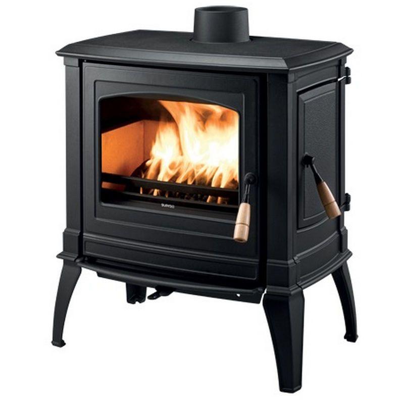 Poele A Bois 10kw Gris Satine Vercors3 Supra Home Appliances