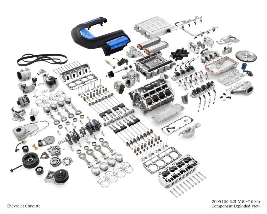 Internal Combustion Engine Exploded View Google Search