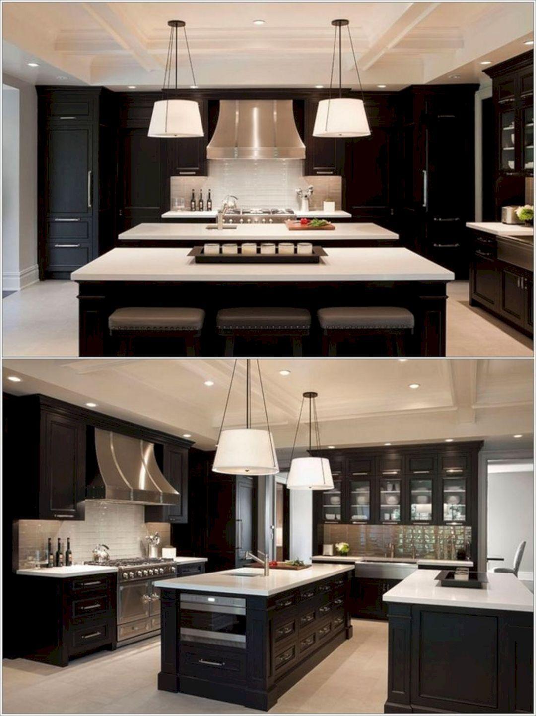 Pin By Allison St Martin On Cute Home Decor Interior Design Kitchen Home Kitchens Double Island Kitchen