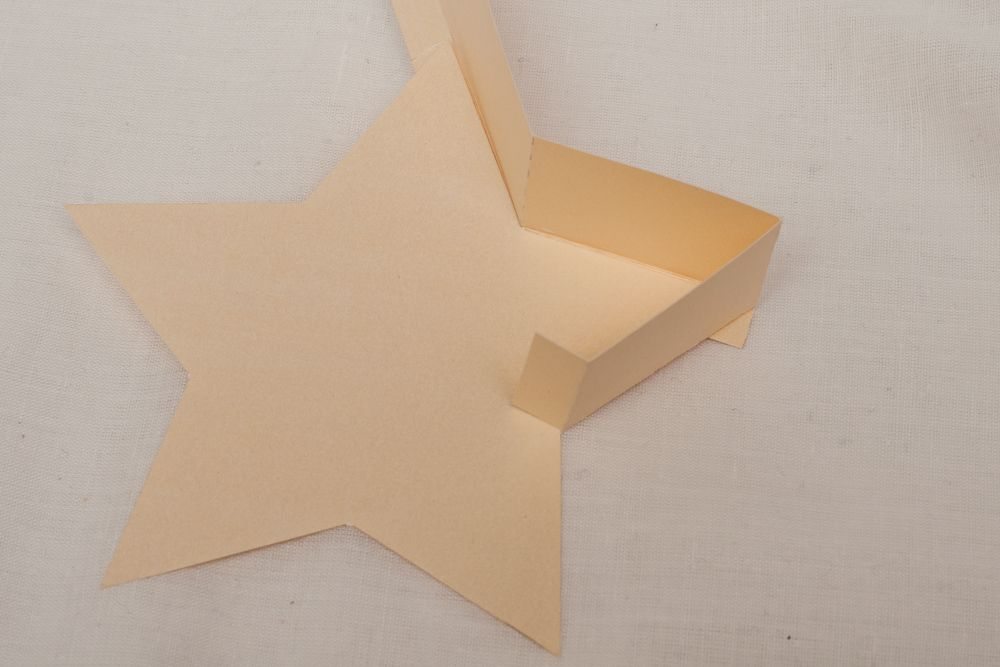 Diy A Star Shaped Box Paper Paradise Star Shape Greeting Cards Handmade Box Template