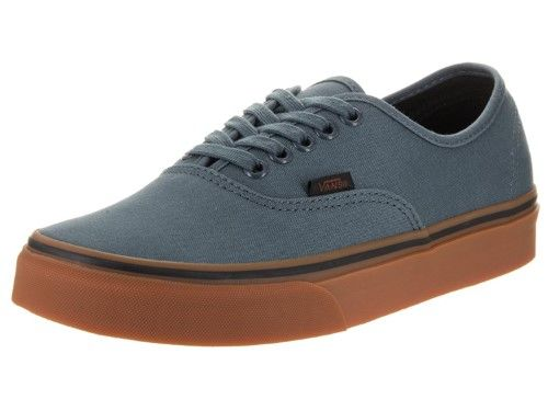 d773261738b803 Vans Unisex Authentic (Gum) Dark Slate Black Skate Shoe 6.5 Men US   8  Women US