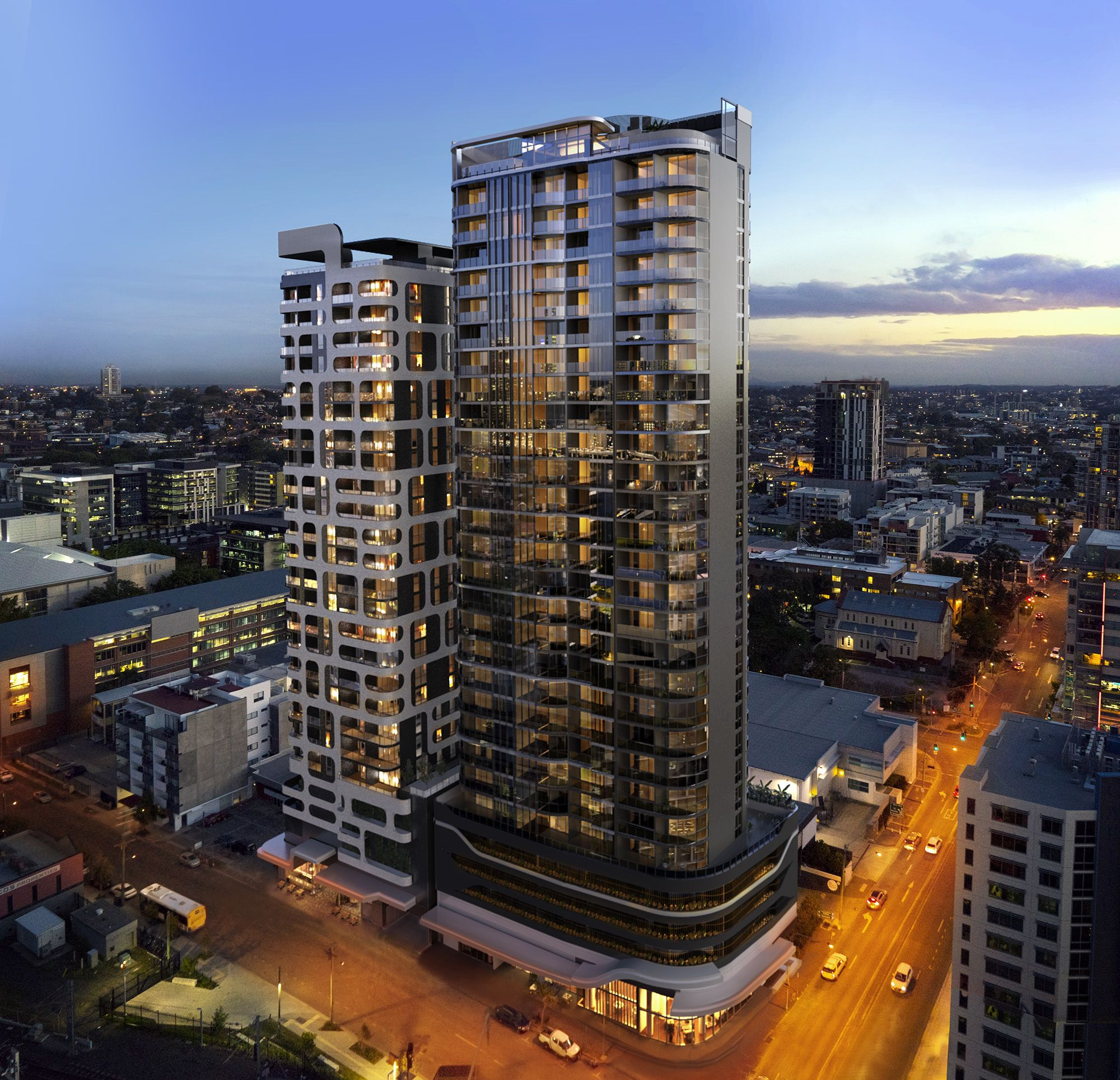 Mirvac Lucid South Brisbane Project 3 2015 168 Apartments Lead Interior