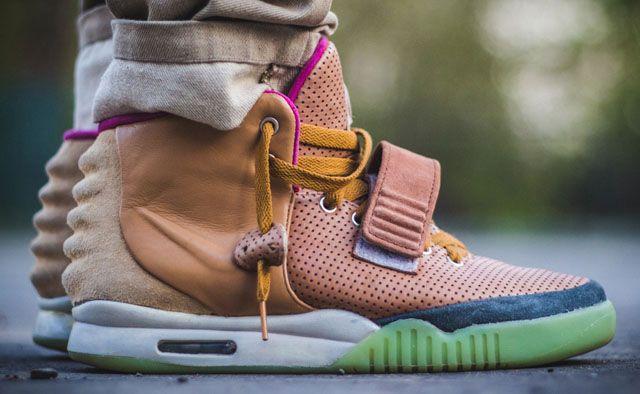 "Nike Air Yeezy 2 ""Net"" Custom"