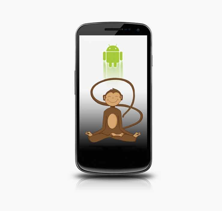 Infinite Monkeys. Easy mobile app design iPhone/Android
