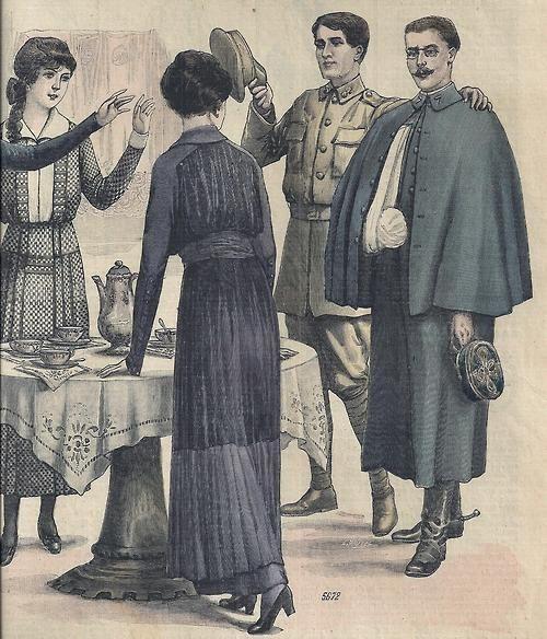 1915 March 14 Le Petit Echo de la Mode from Isabellurette@tumblr