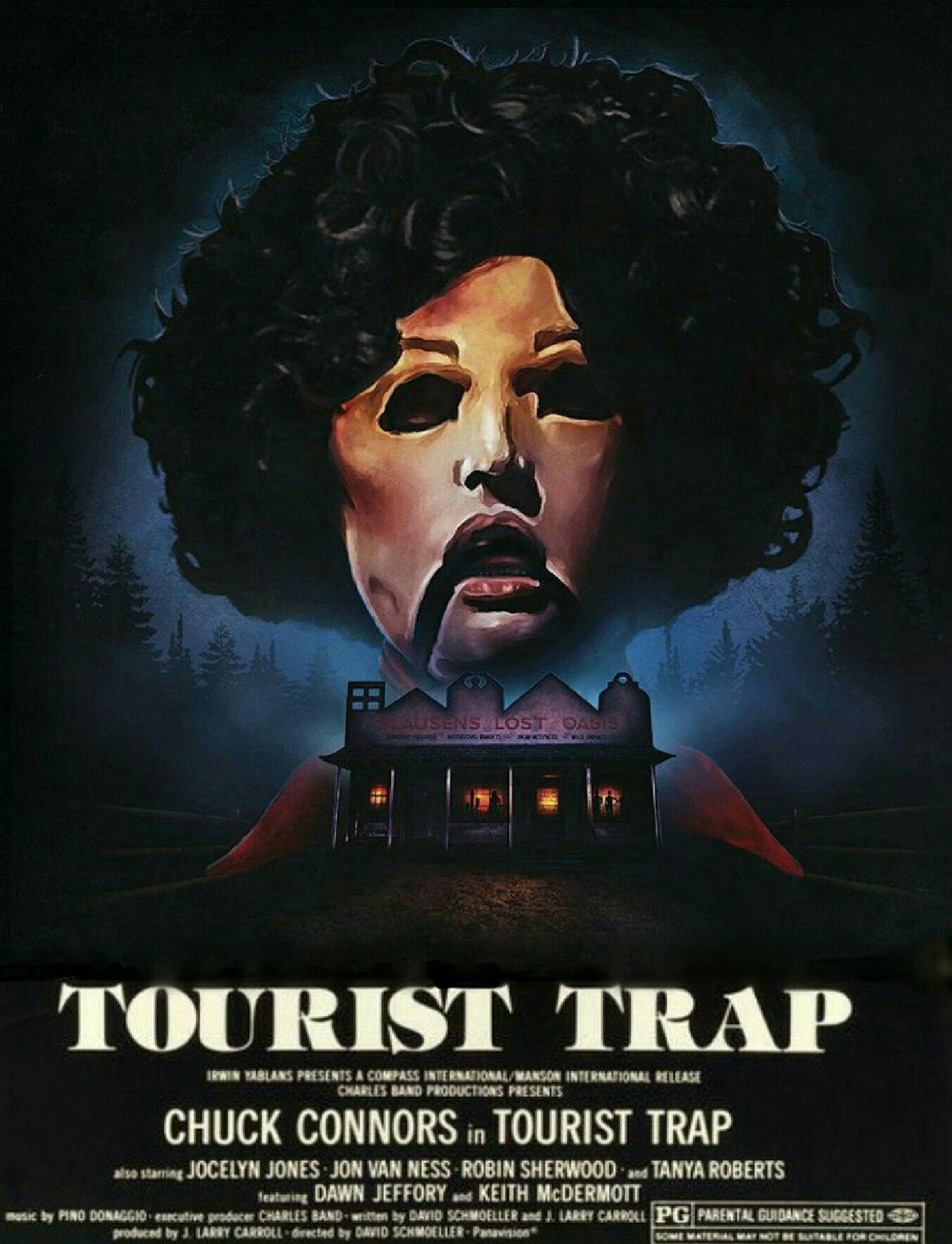 Cartel de la película de terror Trampa turística in 2020