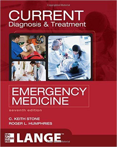 Current Diagnosis And Treatment Emergency Medicine 7th Edition