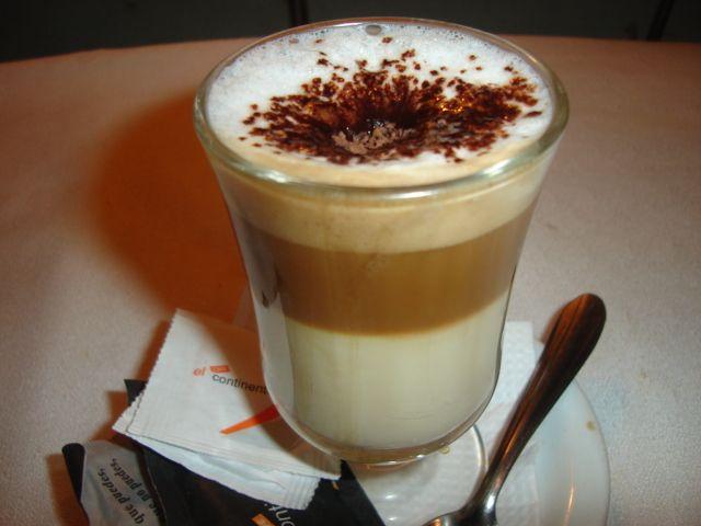 Resultado de imagen de cafe con leche vaso
