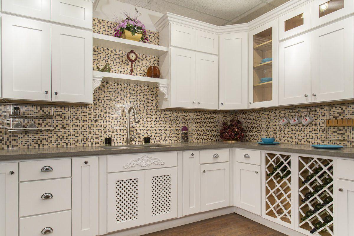 White Shaker 36 X 15 Wall Cabinet Kitchen Cabinet Remodel Interior Design Kitchen Kitchen Base Cabinets
