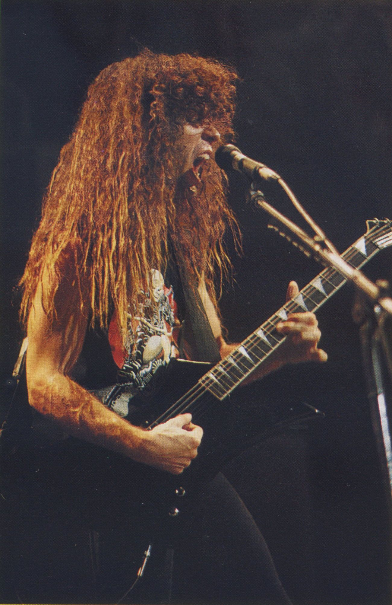 marty friedman 39 s 1985 san dimas jackson cacophony 39 kelly 2 39 guitar heavy metal music. Black Bedroom Furniture Sets. Home Design Ideas