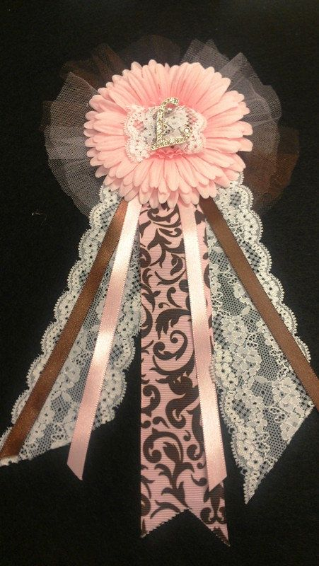 baby or bridal shower corsage by alwayselyse on etsy 1800