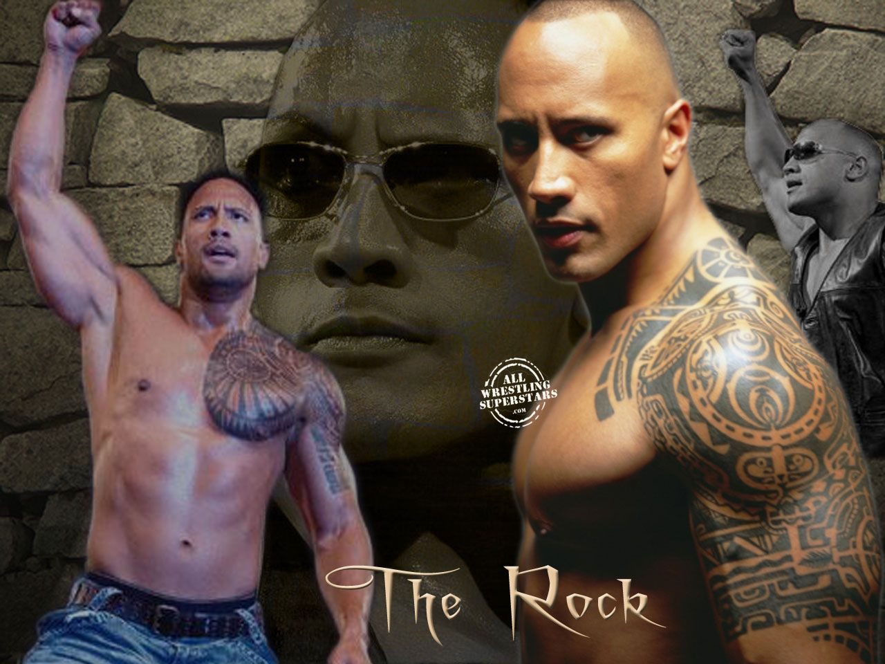 the rock the rock with his stylish tattoo showing his abs click on image to dwayne the. Black Bedroom Furniture Sets. Home Design Ideas