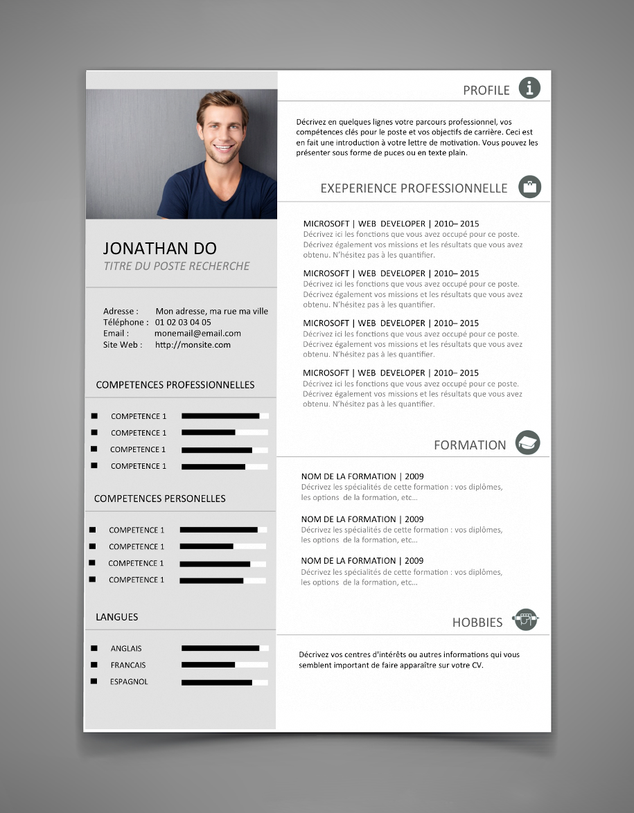 exemple+de+cv+word+2015+2016.png (915×1174) | cv | Pinterest