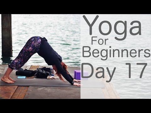yoga for beginners 30 day challenge day 17 with lesley