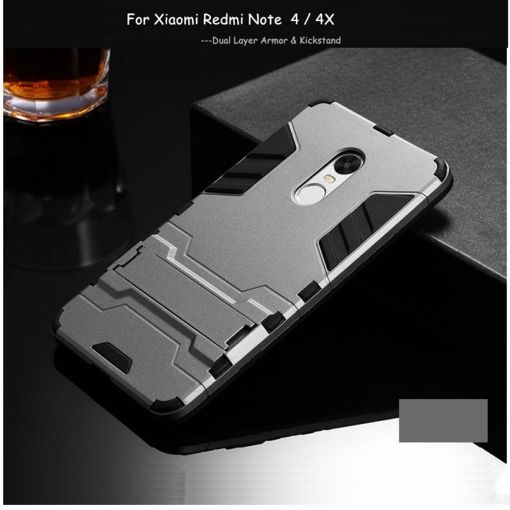 Dual Layer Armor Case For Xiaomi Redmi Note 4x Price $9.95 amp FREE Shipping Worldwide