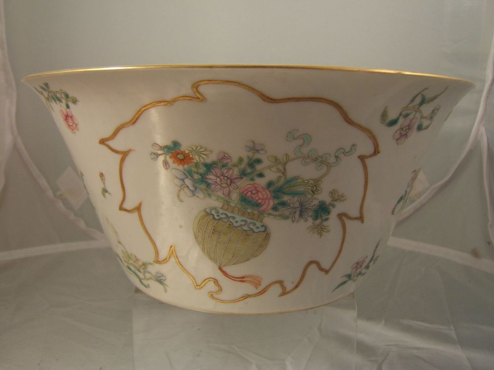 Jiangxi Porcelain Company famille rose porcelain bowl China late Qing / Republic