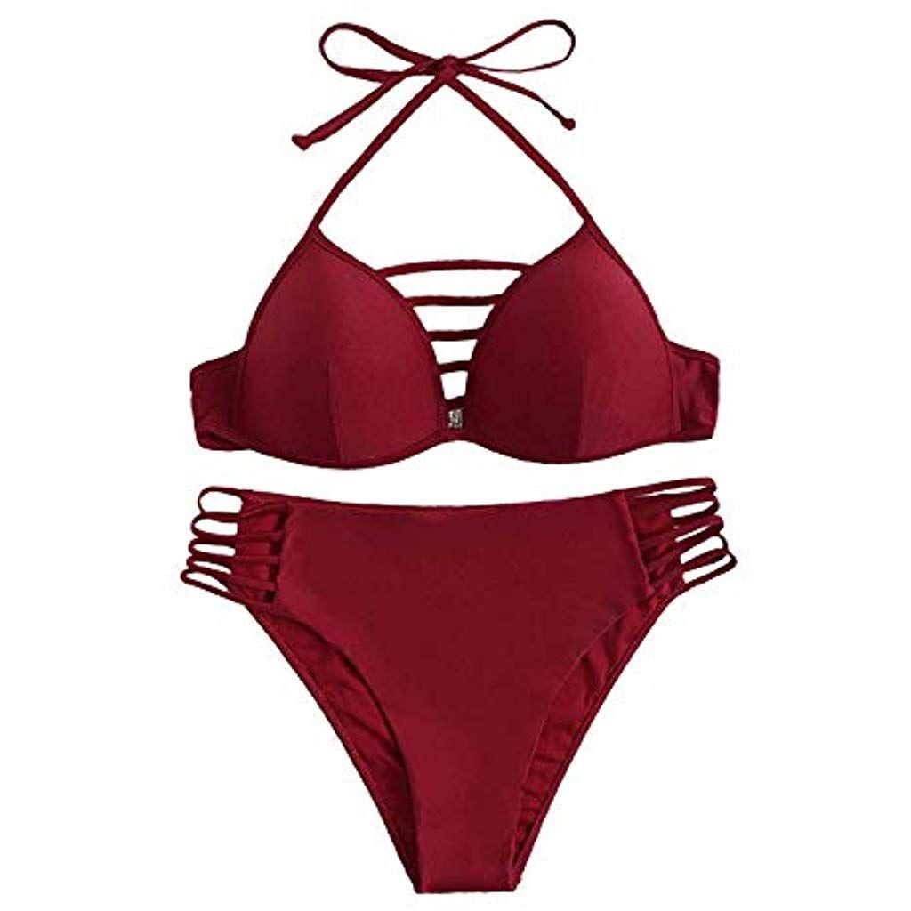 huge discount f1ea5 bc4f8 SOLY HUX Damen Bikini-Set Gr. L rot #Bekleidung #Damen ...