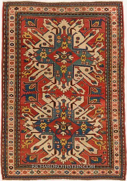 Eagle Kazak Oriental Rug C56i9501