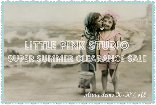 Summer clearance sale, more details on the blog. Markdowns throughout the shop!