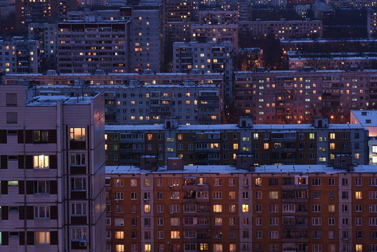 это ночные окна москвы картинки что она