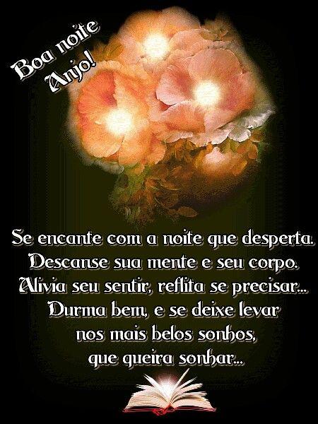 Boa Noite Anjo Boa Noite Anjo Boa Noite Belos Sonhos