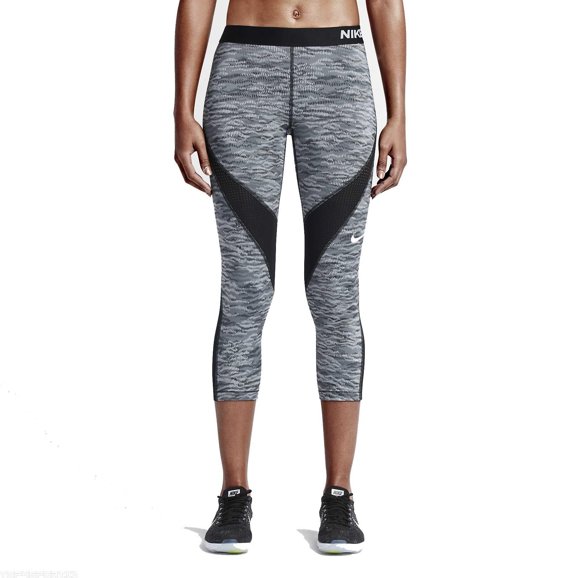 HC und PRO CAPRI Hosen Nike REFLECTNike prosSchwarz D9EIWH2