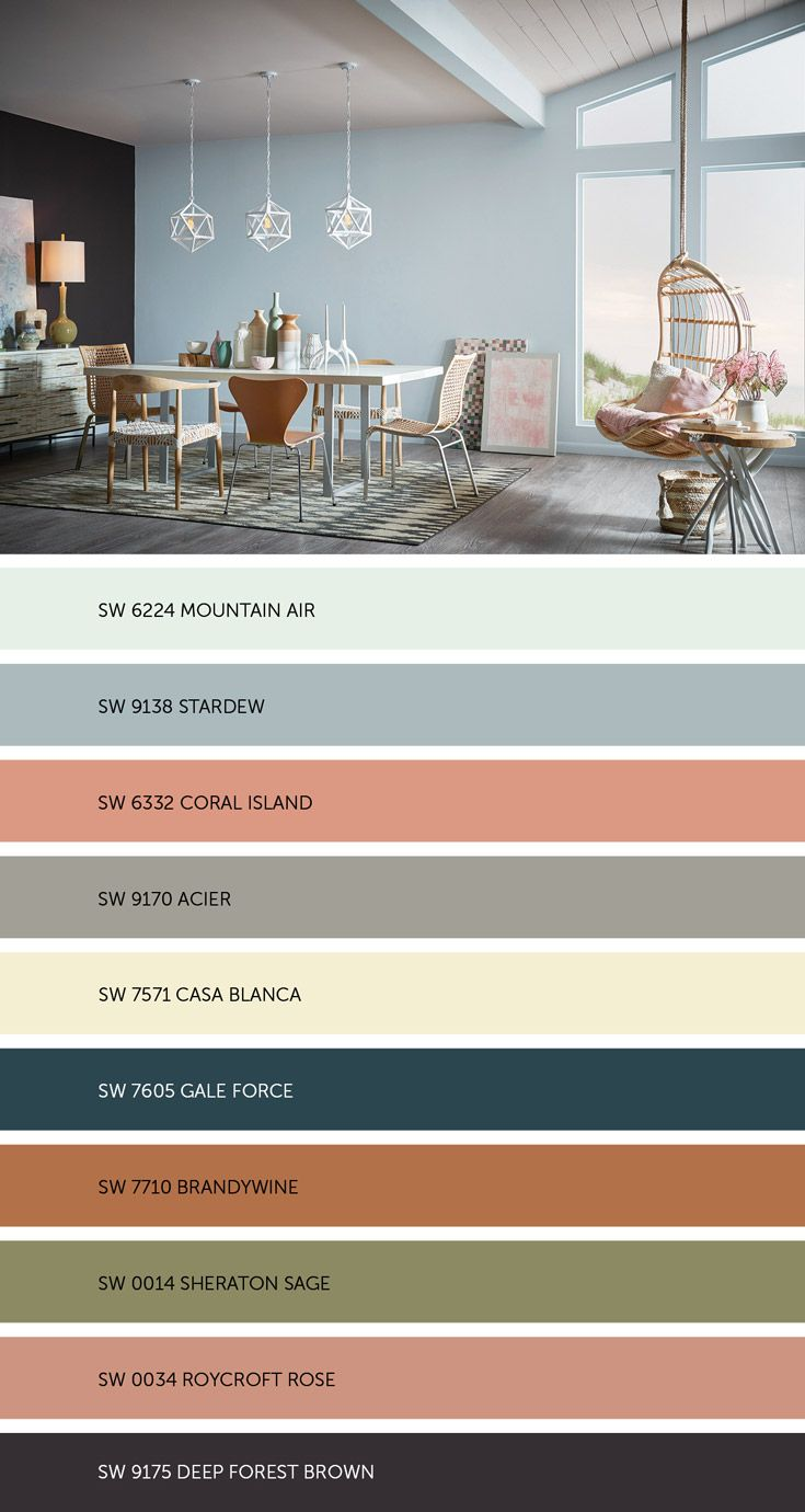Paint colors website - Meet Our Colormix 2017 Holistic Palette Where Sustainable Design And Radical Transparency Are The New