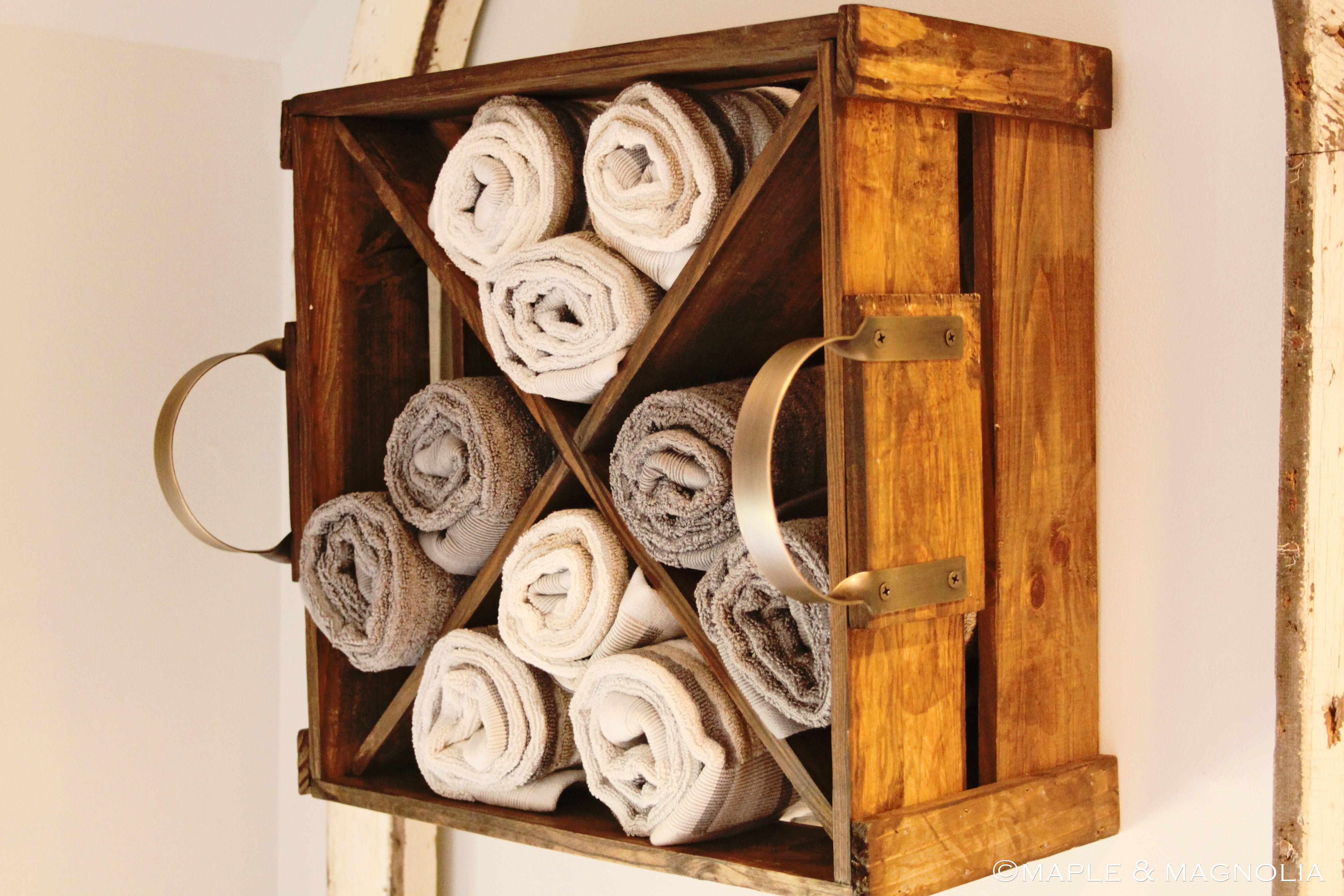 An Awesome Shelf Idea For Fabric Storage Too Diy