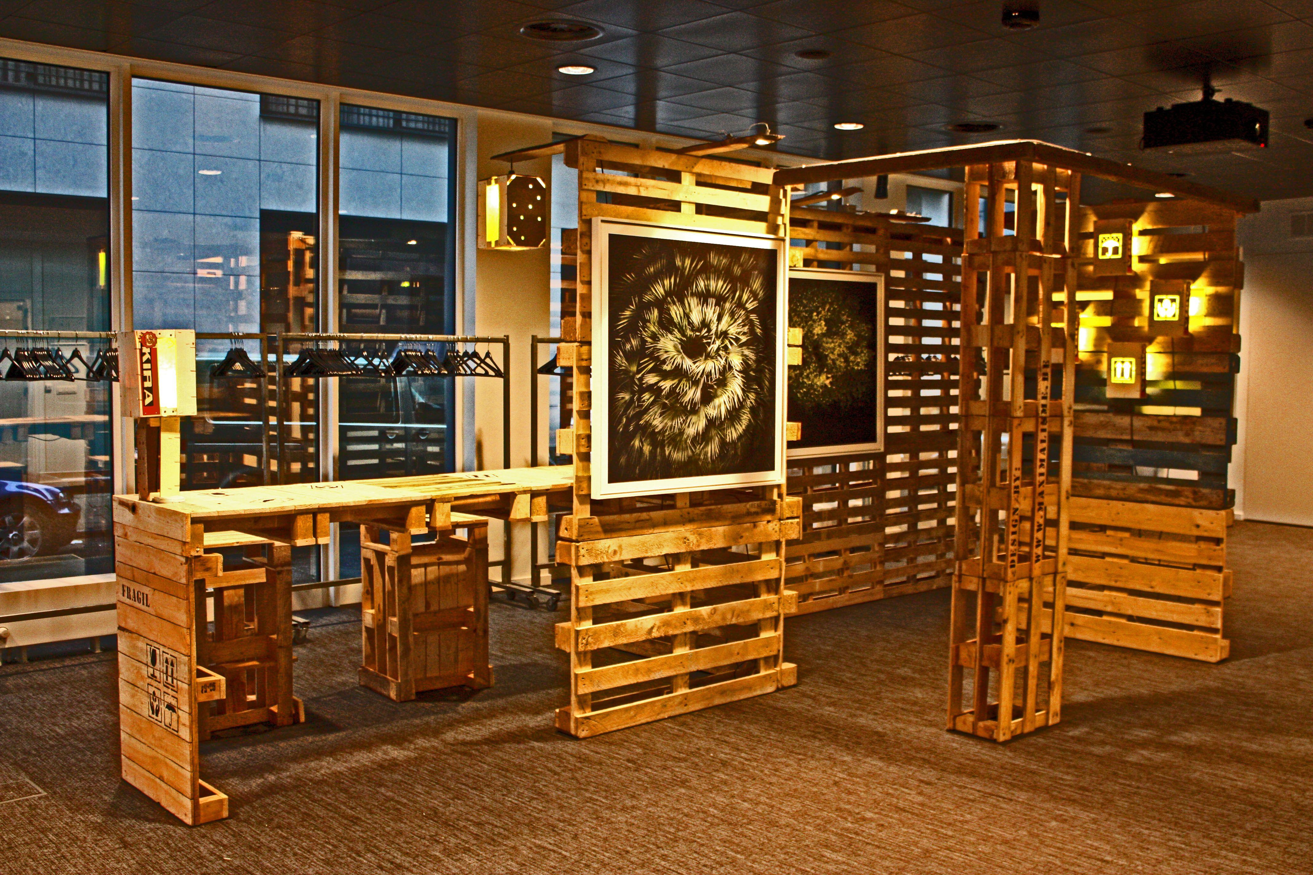 Artkitektura 1001 formas de reciclar tarimas pallets - Reciclar muebles de madera ...