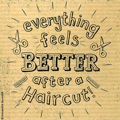 Random Haircut Doodle Hair Salon Quotes Hairdresser Quotes Hairstylist Quotes