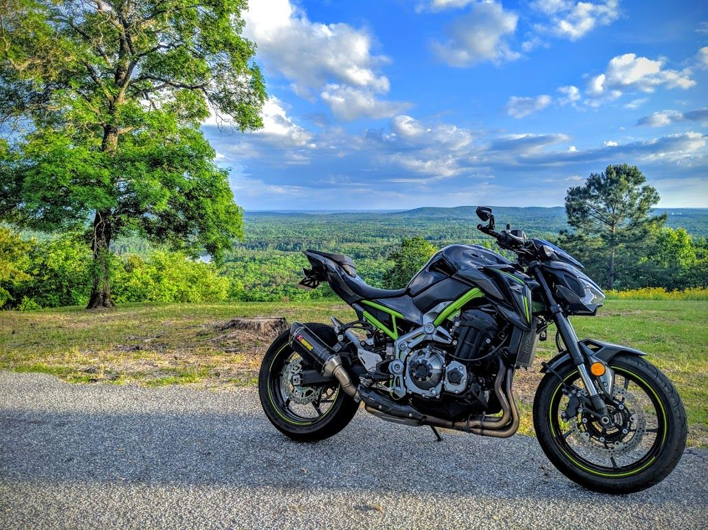 Kawasaki Z900 Pine Mountain Fdr State Park Pine Mountain Motorcycle State Parks